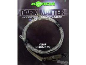 korda hybrid lead clip leader clear 185734 3 0x0