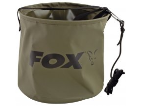 fox nadoba na vodu collapsible water bucket large 10 l