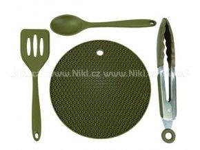 Trakker - Silikonové, kuchyňské nádobí – Armolife Silicone Utensil Set