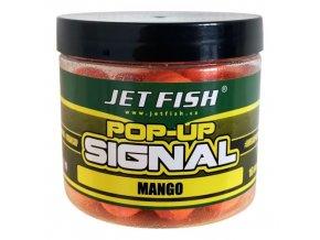 jet fish plovouci boilie pop up signal mango