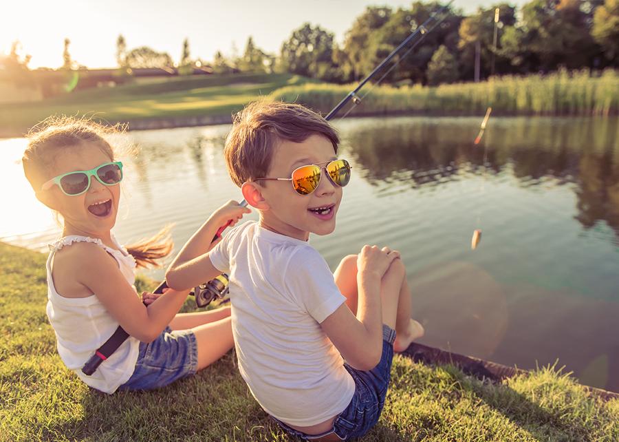 3 dôvody, prečo naučiť deti chodiť na ryby