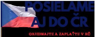 Posielame aj do ČR