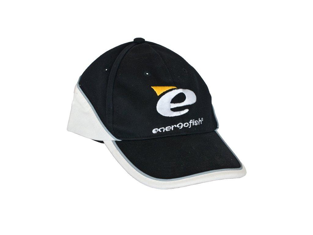 ENERGOTEAM BASEBALL ČIAPKA ENERGOFISH BLACK WHITE