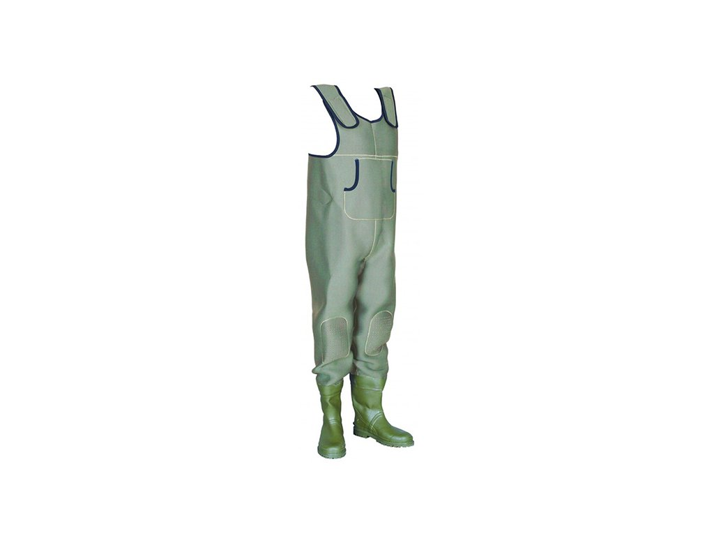 Prsačky neoprénové  CAPTURE JAF SUMMUM 4mm - zelené