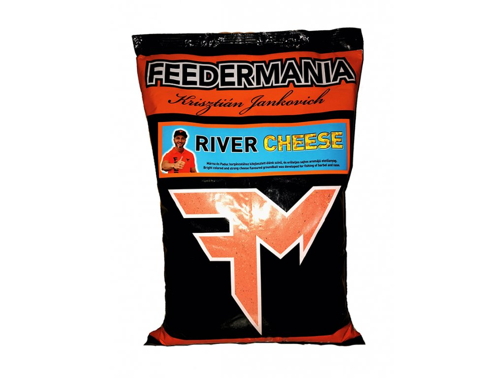 FEEDERMANIA GROUNDBAIT RIVER CHEESE