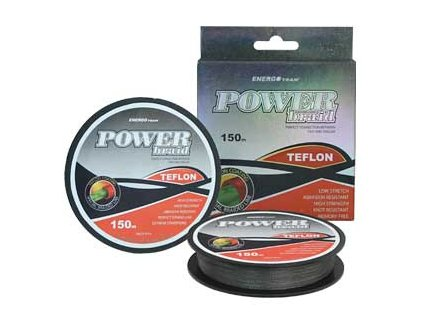 ENERGOTEAM PLETENÁ ŠNÚRA POWER BRAID TEFLON