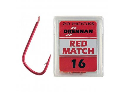 Háčik DRENNAN - RED MATCH