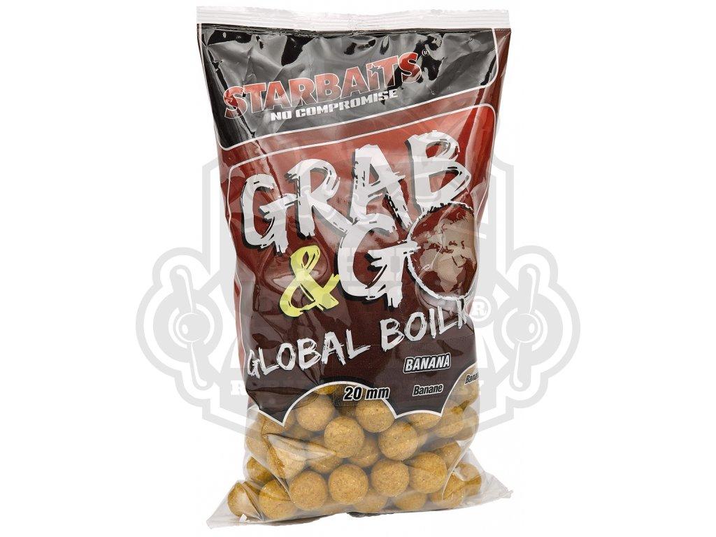Starbaits Grab /& Go Global Boilies Banana Cream 1Kg Banane