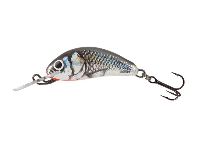 Salmo wobler Hornet Sinking Holo Grey Shiner