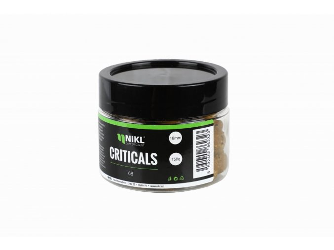 Karel NIKL Criticals boilie 68