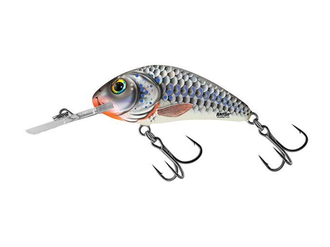 Salmo wobler Rattlin Hornet Floating Silver Holo Shad
