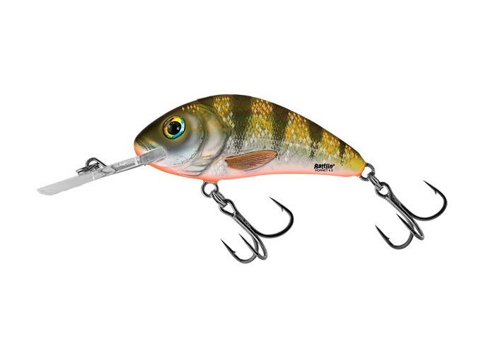 Salmo wobler Rattlin Hornet Floating Yellow Holo Perch