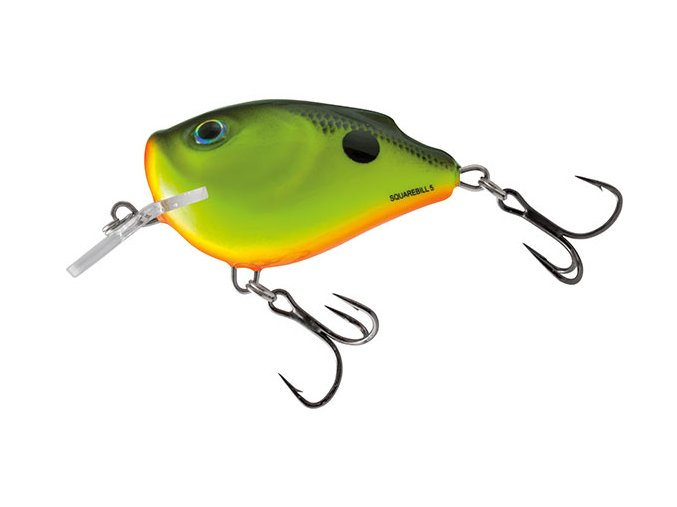 Salmo wobler Squarebill Floating Chartreuse Shad