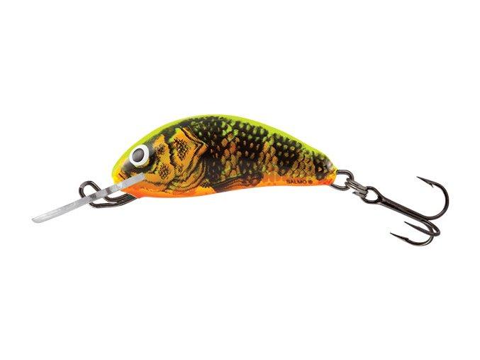 Salmo wobler Hornet Sinking Gold Fluo Perch