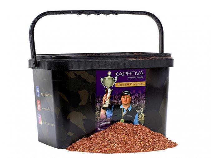 Vnadící směs Konopásek Červená 2+kbelík