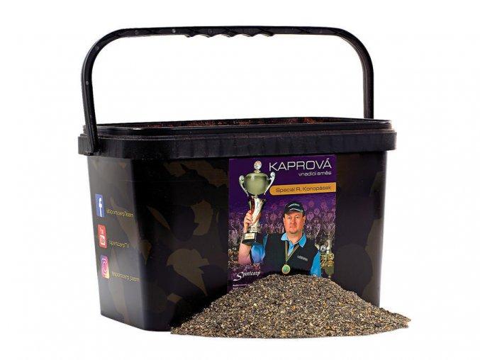 Vnadící směs Konopásek Černá 2+kbelík