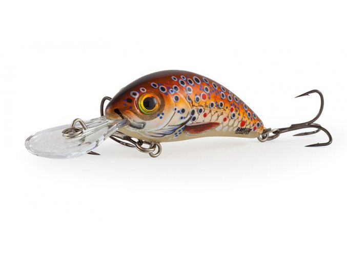 Salmo wobler Rattlin Hornet Floating Holo Brown Trout