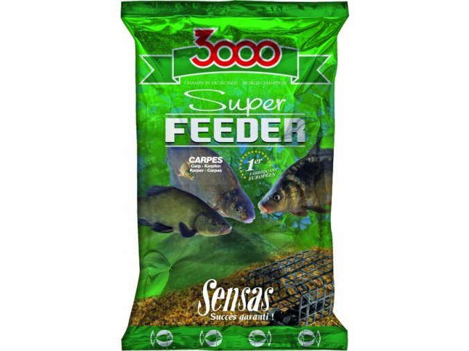Sensas krmení 3000 Super Feeder Carp 1kg