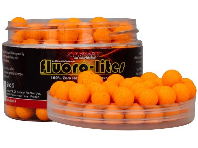 Starbaits Pop-Up boilies Fluoro Lite Oranžová