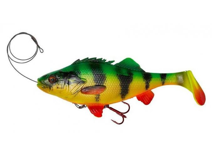 4D Perch Shad Firetiger