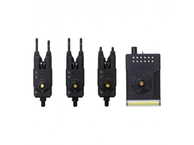 Fulcrum RMX Pro Bite Alarm Presentation Set 3+1 Multi Colour 1