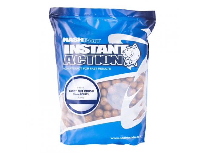 NashBait Instant Action Boilies Candy Nut Crush