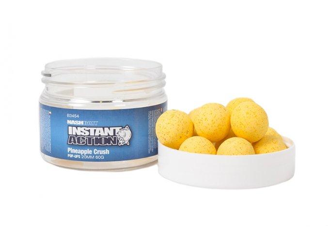 NashBait Instant Action Pop-Ups Pineapple Crush