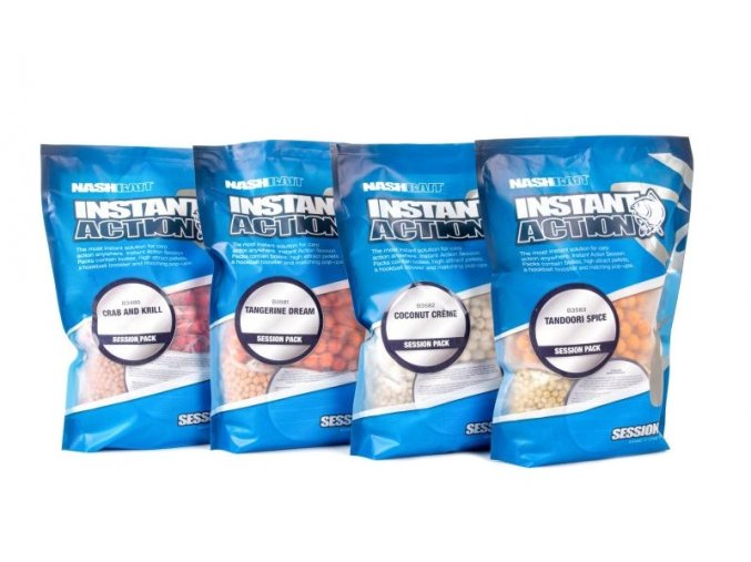 NashBait směs krmení Instant Action Session Pack