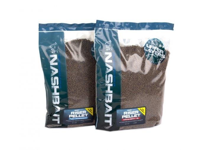 NashBait plovoucí pelety Riser Pellet 1,6kg
