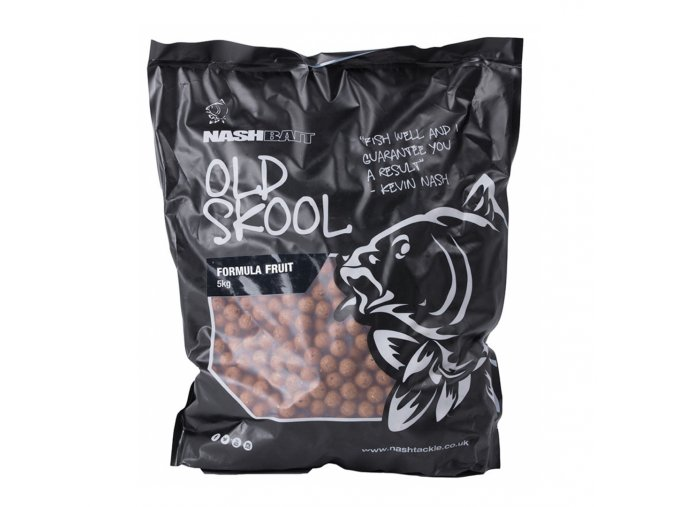 NashBait Old Skool Stabilised Boilies Formula Fruit