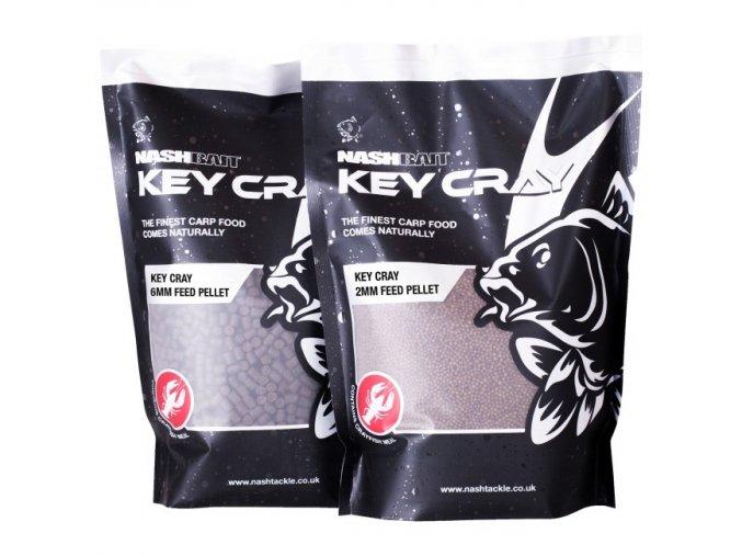 NashBait pelety Key Cray Feed Pellets 900g