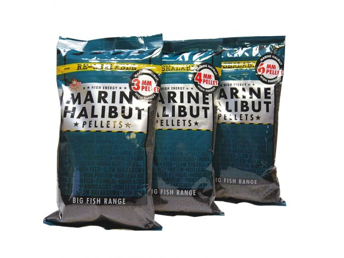 Dynamite Baits pelety Marine Halibut 900g