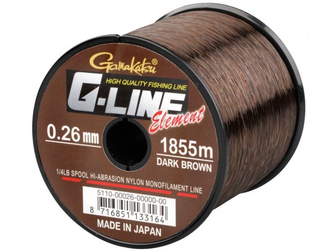 Gamakatsu vlasec G-Line Element Dark Brown