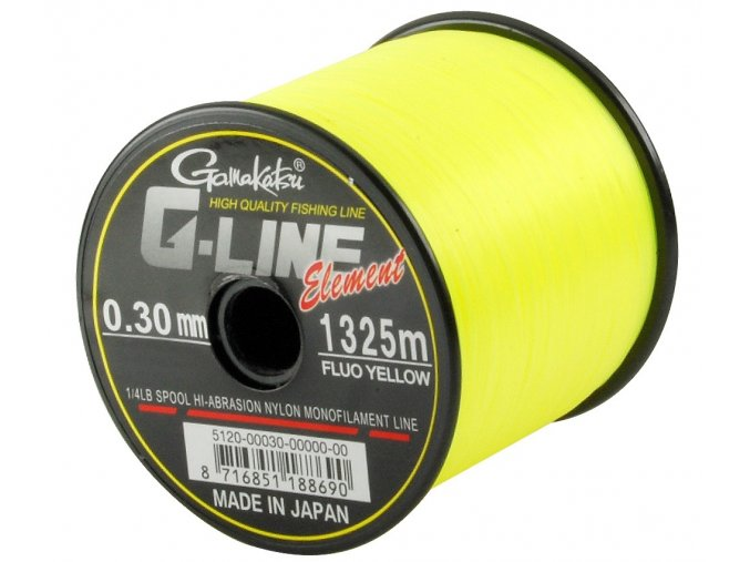 Gamakatsu vlasec G-Line Element Fluo Yellow