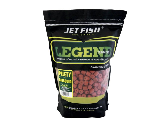 JET Fish Legend Range pelety Biosquid 1kg