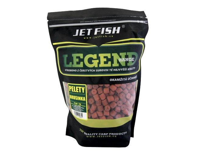 JET Fish Legend Range pelety Brusinka 1kg