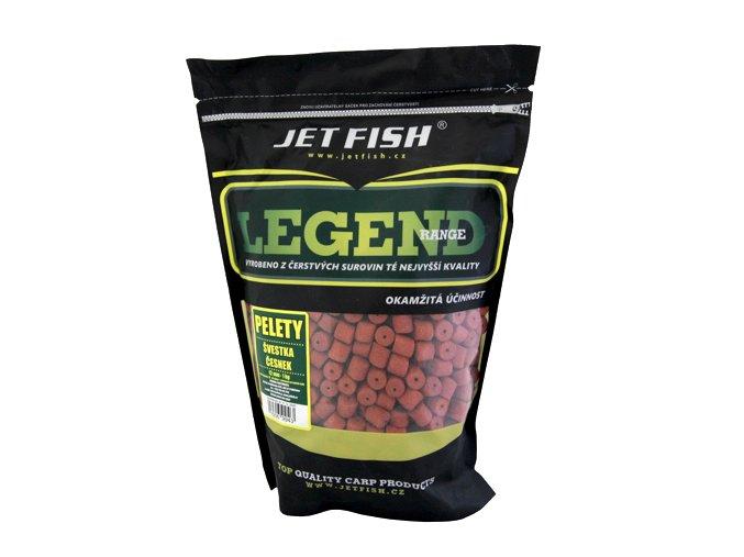 JET Fish Legend Range pelety Švestka/Česnek 1kg
