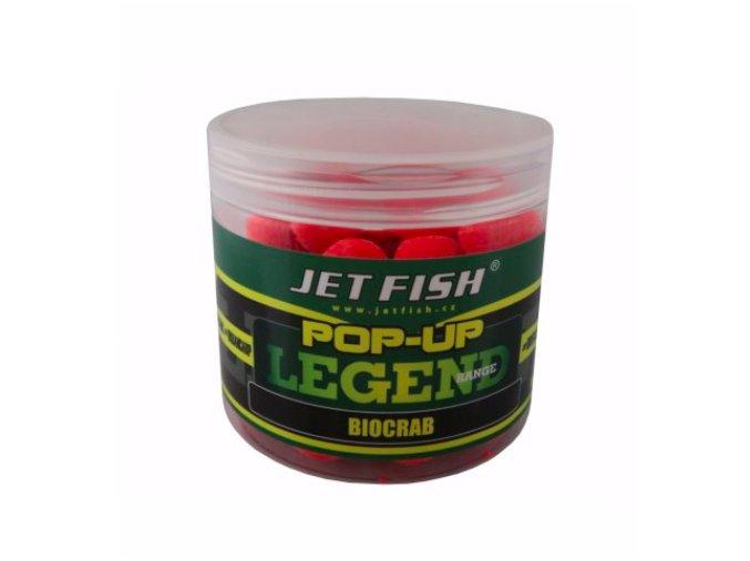 JET Fish Legend Range pop-up Biocrab