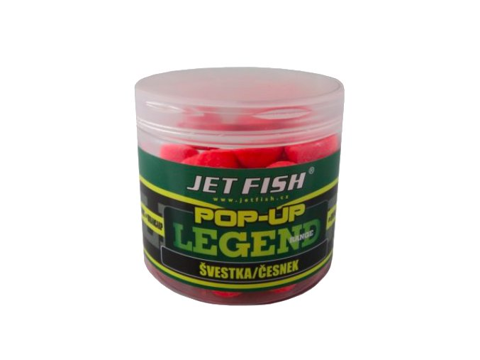 JET Fish Legend Range pop-up Švestka/Česnek