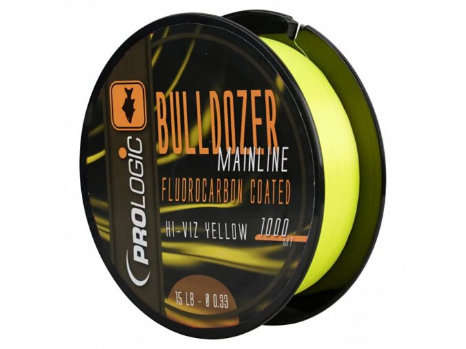 Bulldozer Fluorocarbon Coated Fluo Yellow