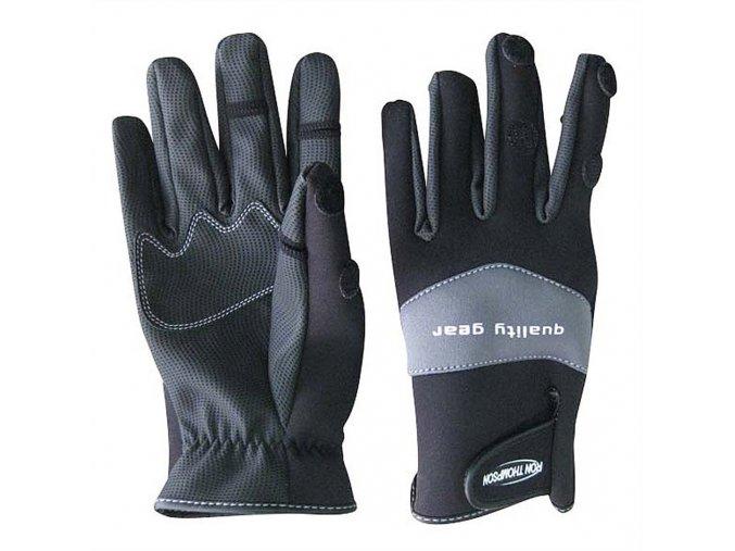 Ron Thompson rukavice SkinFit Neopren Glove Black