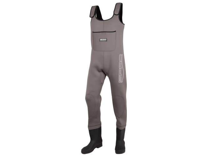 SPRO prsačky 4mm Neoprene Chest Wader PVC Boots