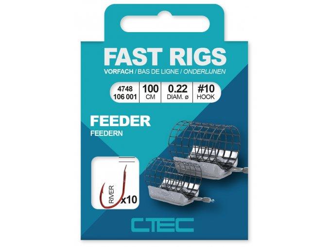 SPRO návazec C-Tec Fast Rigs River Feeder
