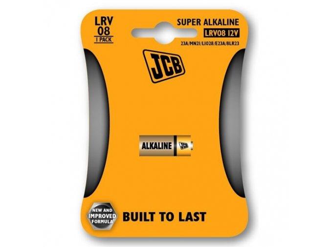 JCB alkalická baterie LRV08/12V