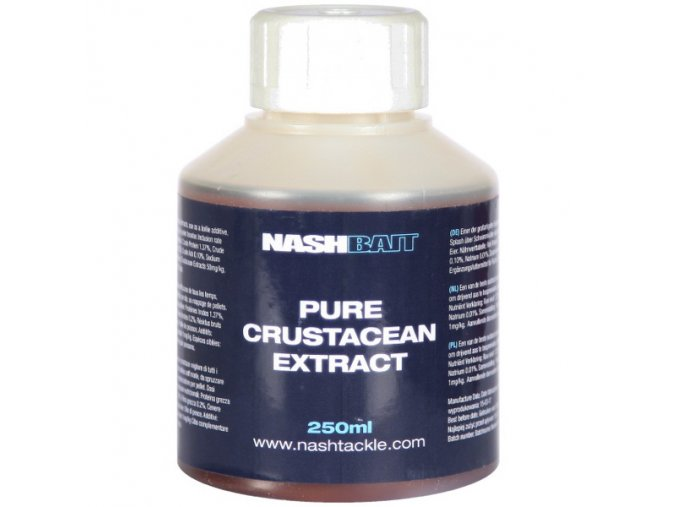 NashBait tekutý extrakt Pure Crustacean Extract 250ml