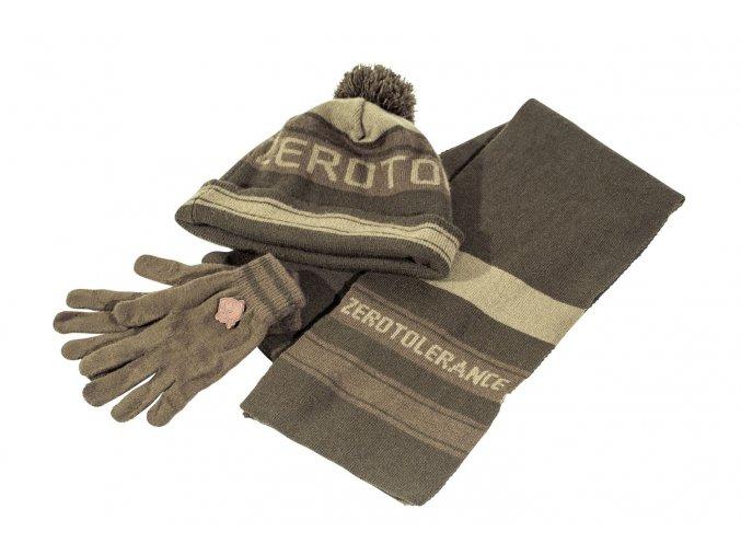 Nash set čepice šály a rukavic ZT Hat Scarf and Gloves Set