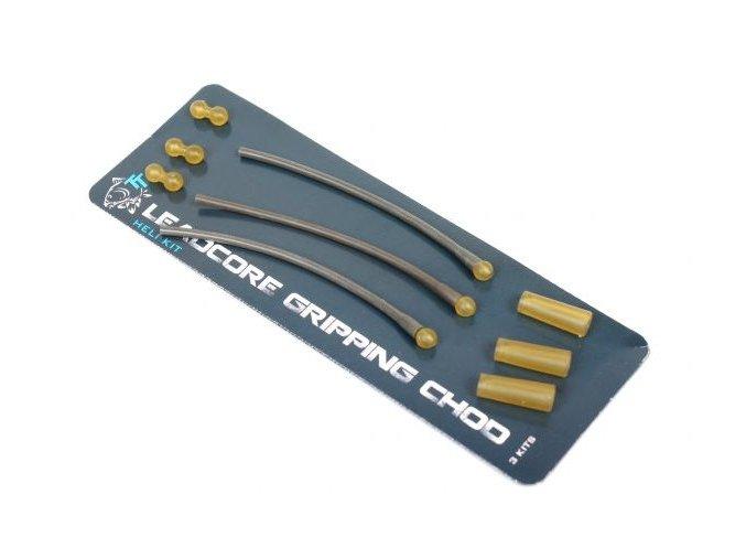 Nash set na výrobu montáží Leadcore Gripping Chod Heli Kit