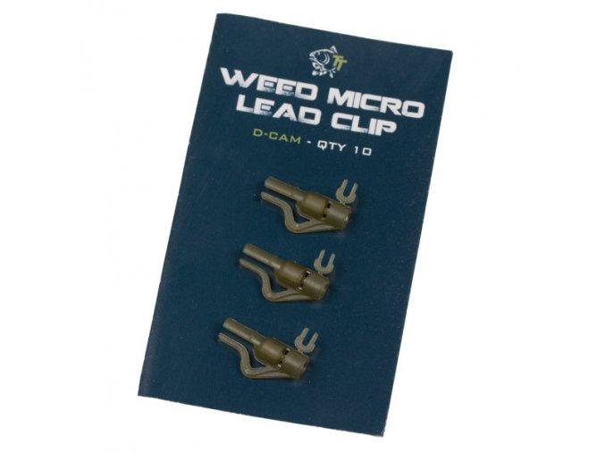 Nash závěsky Weed Micro Lead Clips