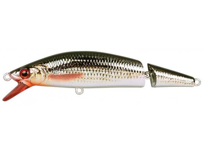 SPRO wobler Ikiru Jointed Floating Chrome Roach
