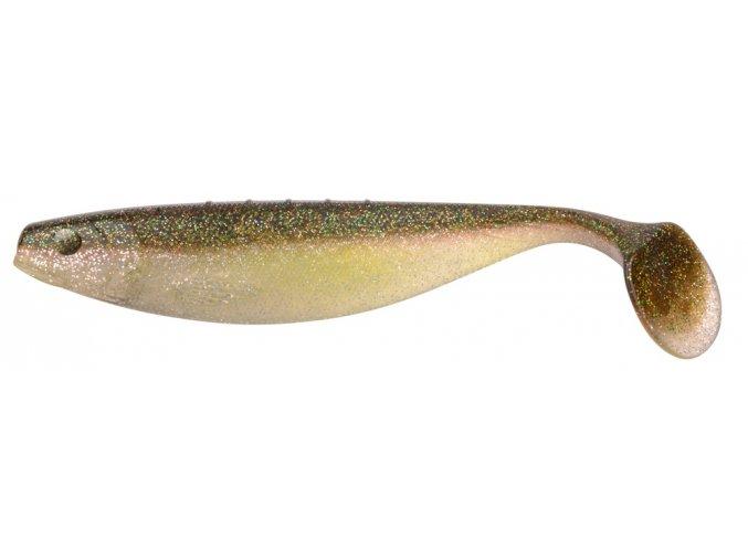 SPRO gumová nástraha Mega Shad 20cm Golden Muscat
